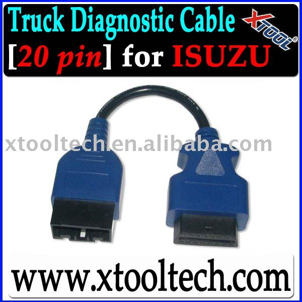 [XTOOL] 20 Pin ISUZU Truck Diagnostic Cable/Connector,ISUZU Truck Parts