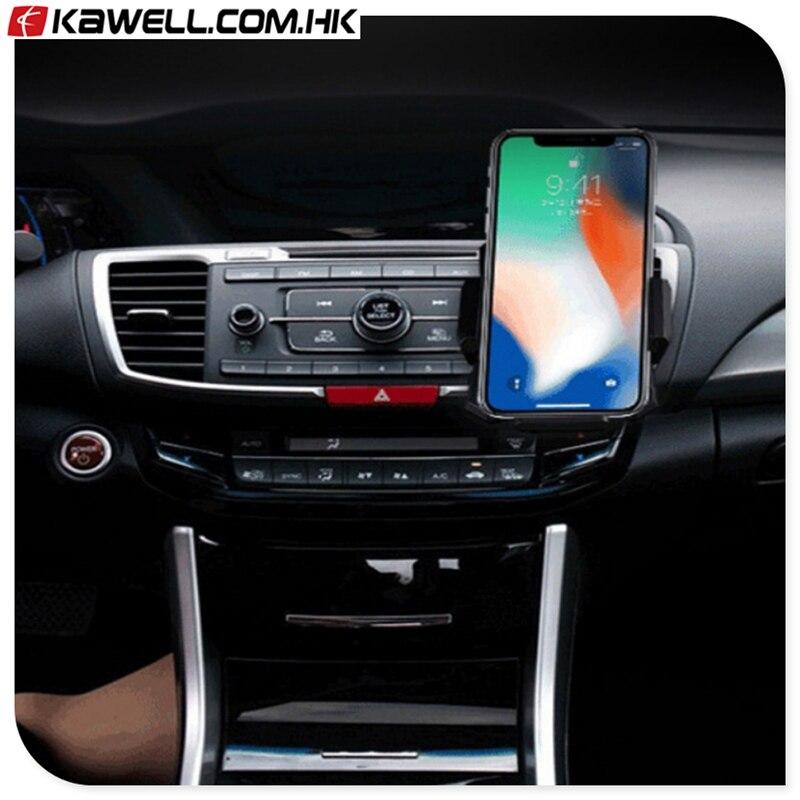 Support de capteur infrarouge pour iPhone X chargeur sans fil 10 W chargeur rapide de support de voiture chargeur rapide