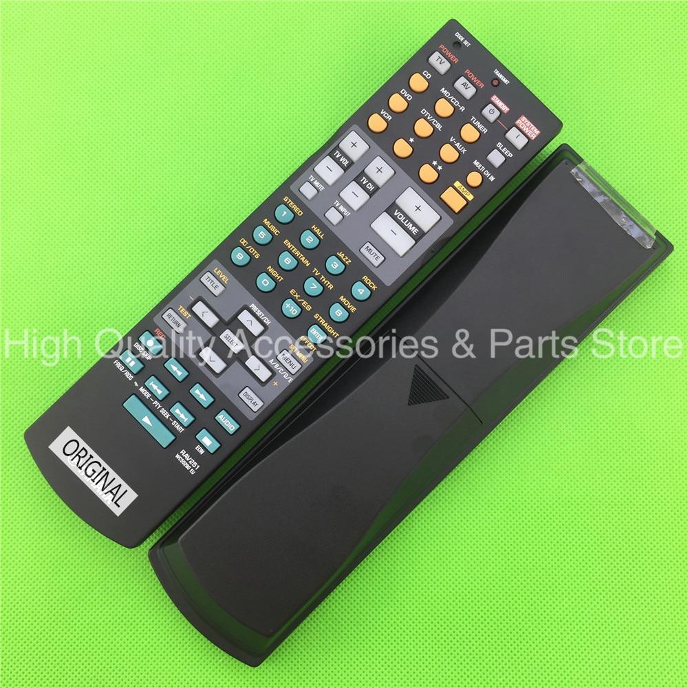 New Original Remote Control for yamaha RX-V550 YHT-450 YHT-750 YHT-755  HTR-5860 RX-V657 AV power amplifier