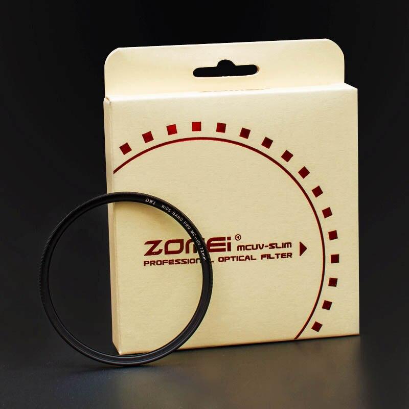77mm ZOMEI PRO Ultra Slim MCUV 16 Layer Multi Coated Optical Glass MC UV Filter for Canon Nikon Hoya Sony DSLR Camera Lens 77 mm