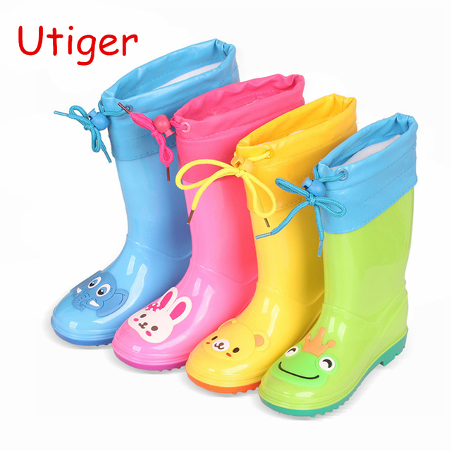 5cf60b8e4cd9c Children Rubber Rain Boot Girl Boy Rain shoes for Baby Boys Girls Rain Boot  child Waterproof Shoes Baby Girl Sneaker