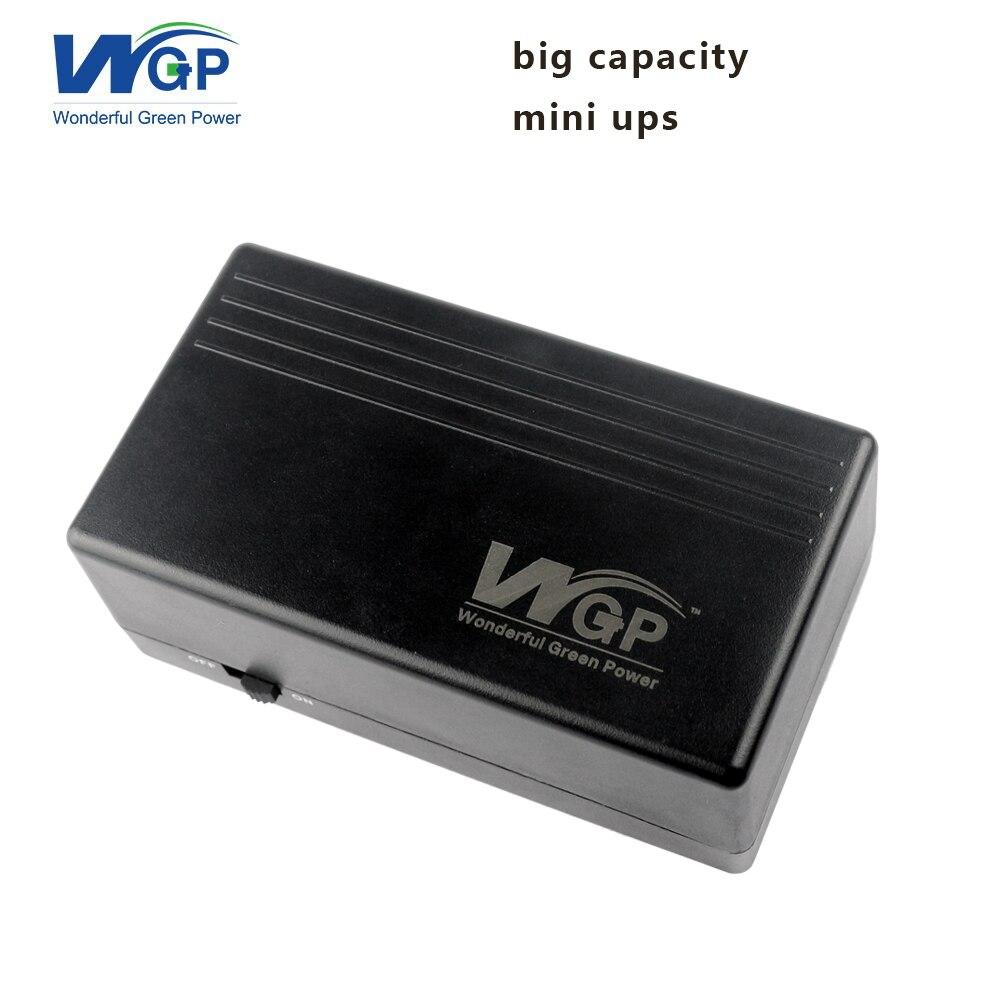 Большой ёмкость литиевая батарея UPS источник бесперебойного питания В 12 В 2a 57.72wh мини UPS wi fi маршрутизатор DSL модем и cctv камера
