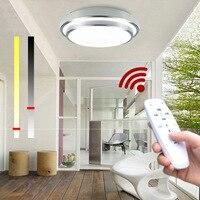 LED תקרת אורות שינוי צבע טמפרטורת תקרת מנורת 30 w חכם שלט רחוק Dimmable חדר שינה סלון העין מוגן