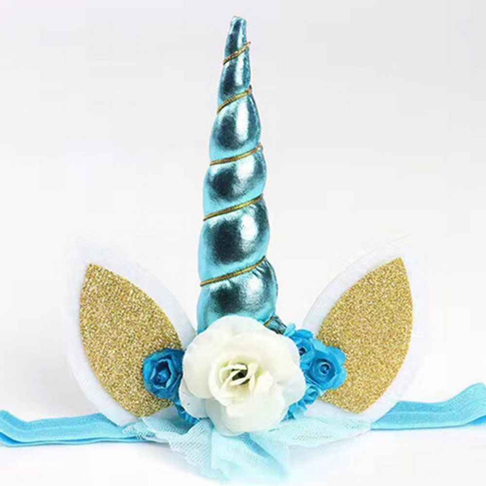 ... Decorative Unicorn Horn Headband Hair Band Party Fancy Dress Cosplay  Costume ... d25da27d0f4a