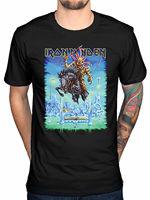 2017 Summer Fashion Iron Maiden Tour Trooper T Shirt Final Frontier Peace Of Mind Powerslav Design