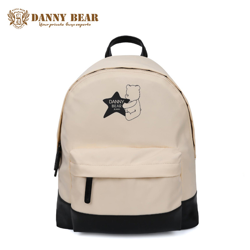 DANNY BEAR Fashion Backpack For Women Cheap Backpacks For Teenager Girls Boys White Waterproof School Back Bags Mochila escolar tangimp 3 size camouflage kid cool backpack school bags unisex travel mochila escolar backpacks bags for boys girls teenager