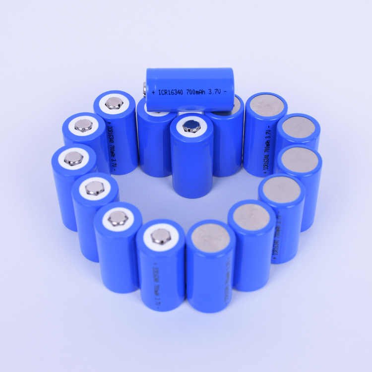 2018 ICR 16340 700 mAh 3,7 V литий-ионная аккумуляторная батарея