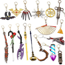 New game Identity V keychain Man fifth keychains personal whistle manual suspension in the form of a sword magician keyring gift