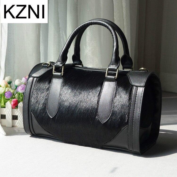 KZNI woman bags 2017 bag handbag fashion messenger bag women leather carteras mujer marcas famosas cuero genuino L010317