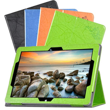 Folio Stand Cowl Flower Printing Sample PU Leather-based Case Cowl For Teclast Tbook12 Professional 12.2 inch Pill PC