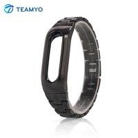 Metal Wrist Strap For Xiaomi Mi Band 1S Smart Wristband Bracelet Fashion Replacement Mi Band 1S