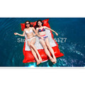 Hot Sell Red Swimming Floating Bag Bed