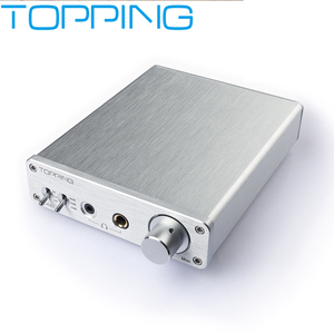 Image 1 - NEW TOPPING A30 Desktop Headphone Amplifier audio amp TPA6120A2 OPA1611 OPA2134