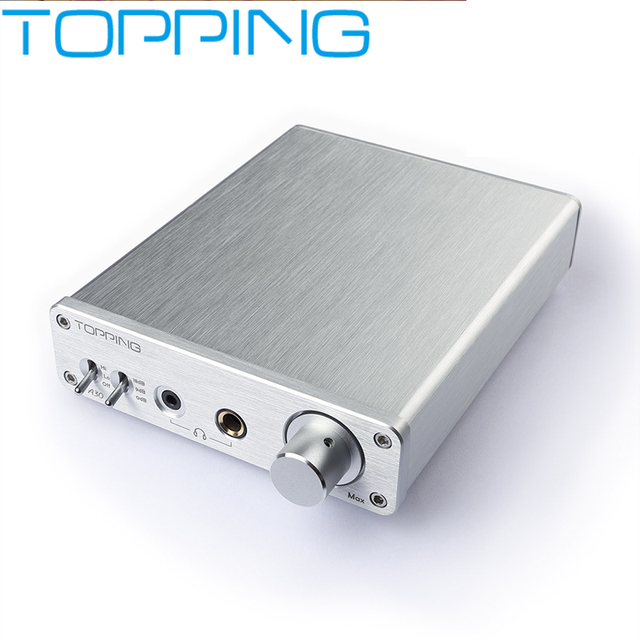 NEW TOPPING A30 Desktop Headphone Amplifier audio amp TPA6120A2 OPA1611 OPA2134