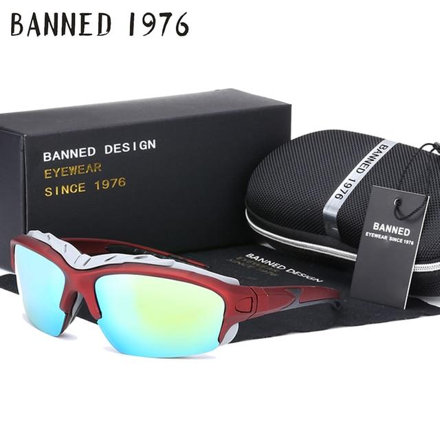 Caixa Original Polarizada à prova de vento Esportes das mulheres Dos Homens  óculos de Sol marca 3df876bbf3
