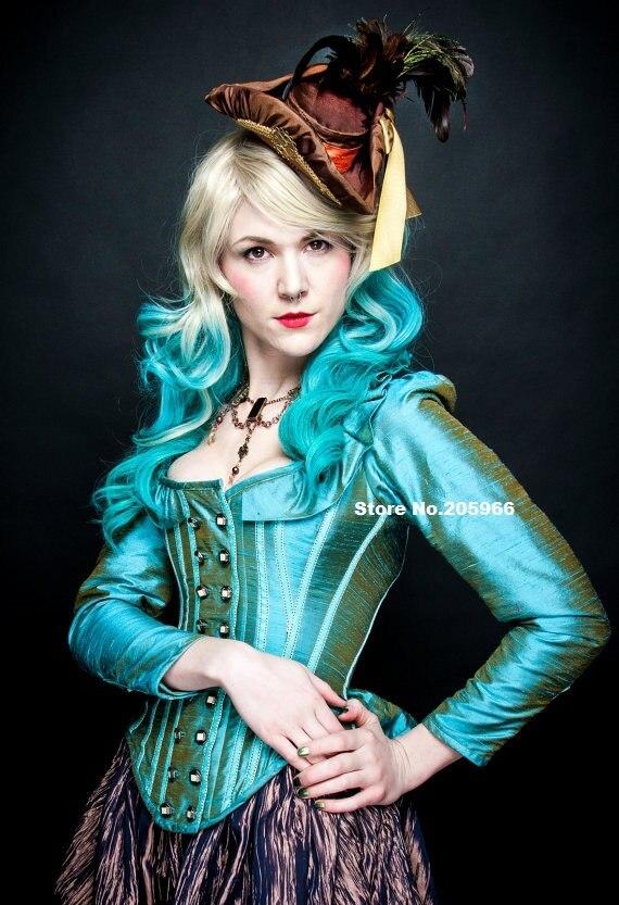CUSTOM MADE Steampunk Corset Jacket Gothic Victorian Wedding Dress ...