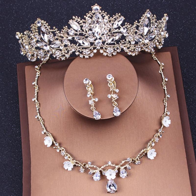3d20683c1041 Kymyad Collier mujer moda declaración de cristal collares colgantes joyería  multicapa enlace cadena collar Bijoux Colares