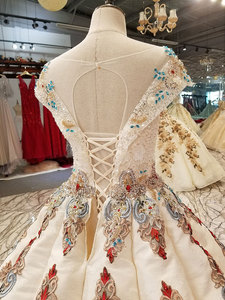 Image 5 - AIJINGYU Gown Bridal White New Gown Princess Real Price Lace Vintage Boho Stores This SeasonS Wedding Dresses