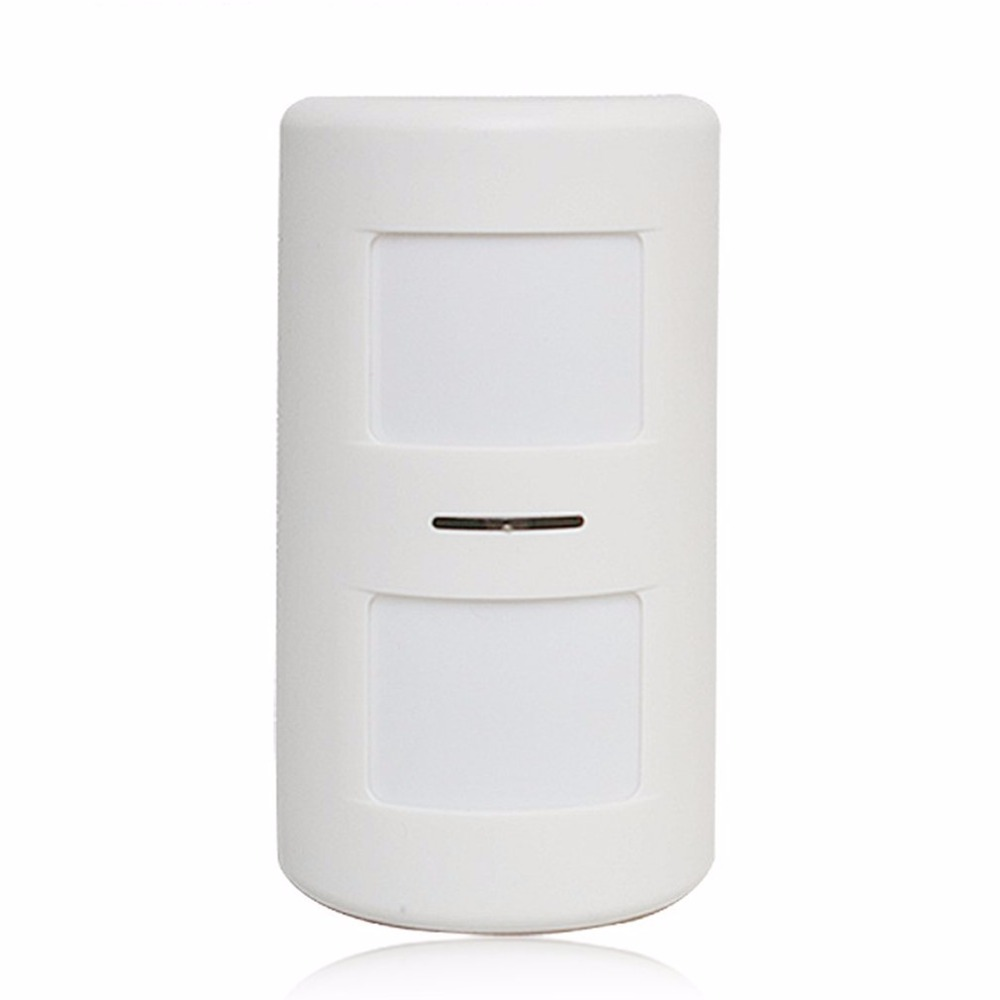 Mini Wireless Passive Infrared Detector Double Probe PIR Motion Sensor For Alarm Systems Home Security Burglar Alarm 712Mini Wireless Passive Infrared Detector Double Probe PIR Motion Sensor For Alarm Systems Home Security Burglar Alarm 712