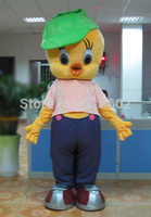 High Quality Newest Lovely Tweety Bird Mascot Costume Cartoon Costumes With Free Shipping