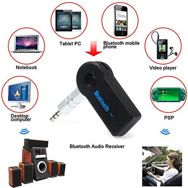 Bluetooth Music Receiver: Ideal for in-Car or in-Home