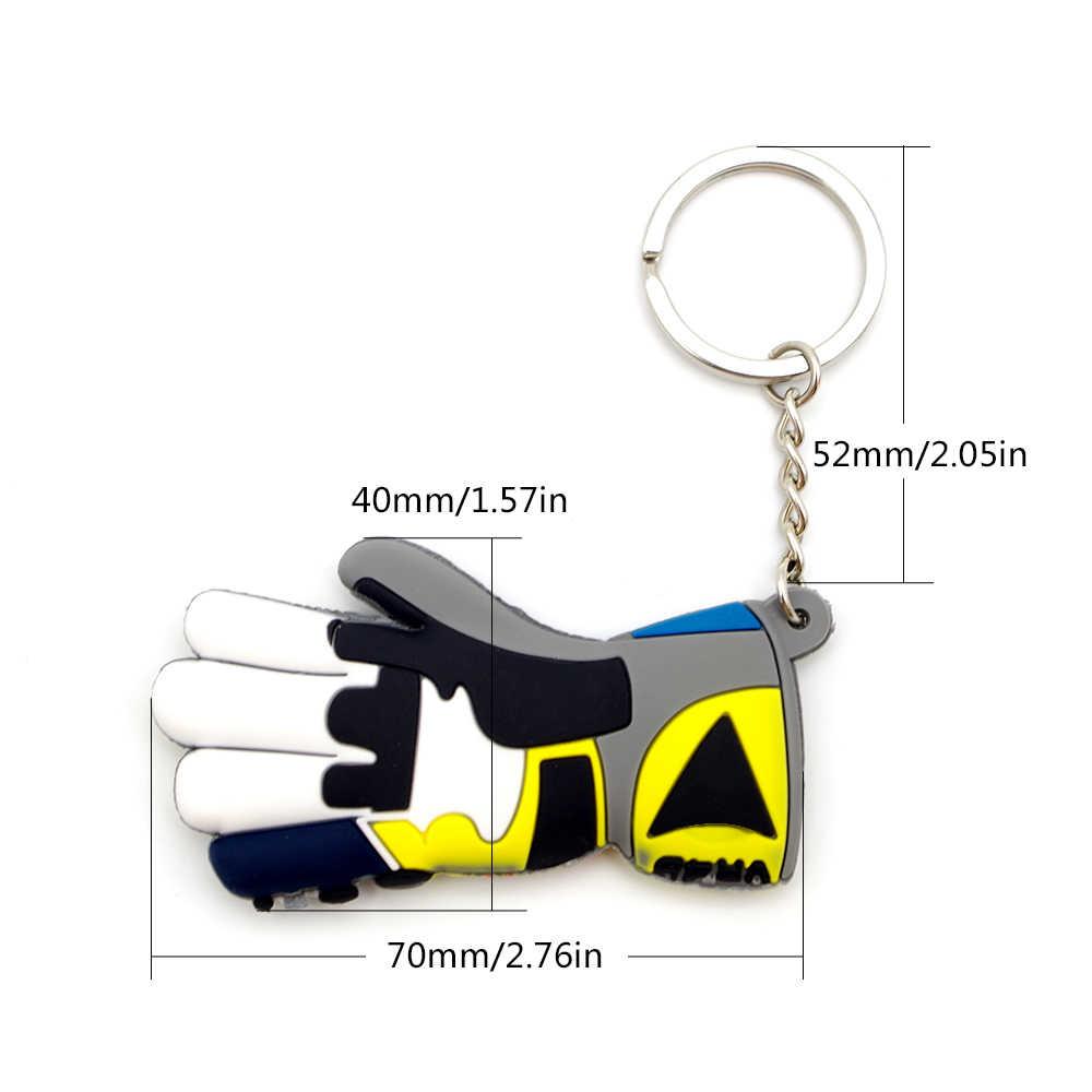 素敵なクールなモトバイクグローブ gants キーホルダーキーチェーンミニオートバイホンダ CB650F CBF 600 CBR 125