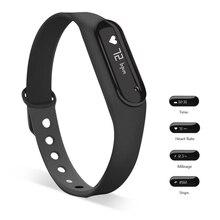 Yuntab черный 0.69 «C6 Bluetooth 4.0 Смарт-часы переносной Спорт оригинальный браслет сна Мониторы браслет активных трекер
