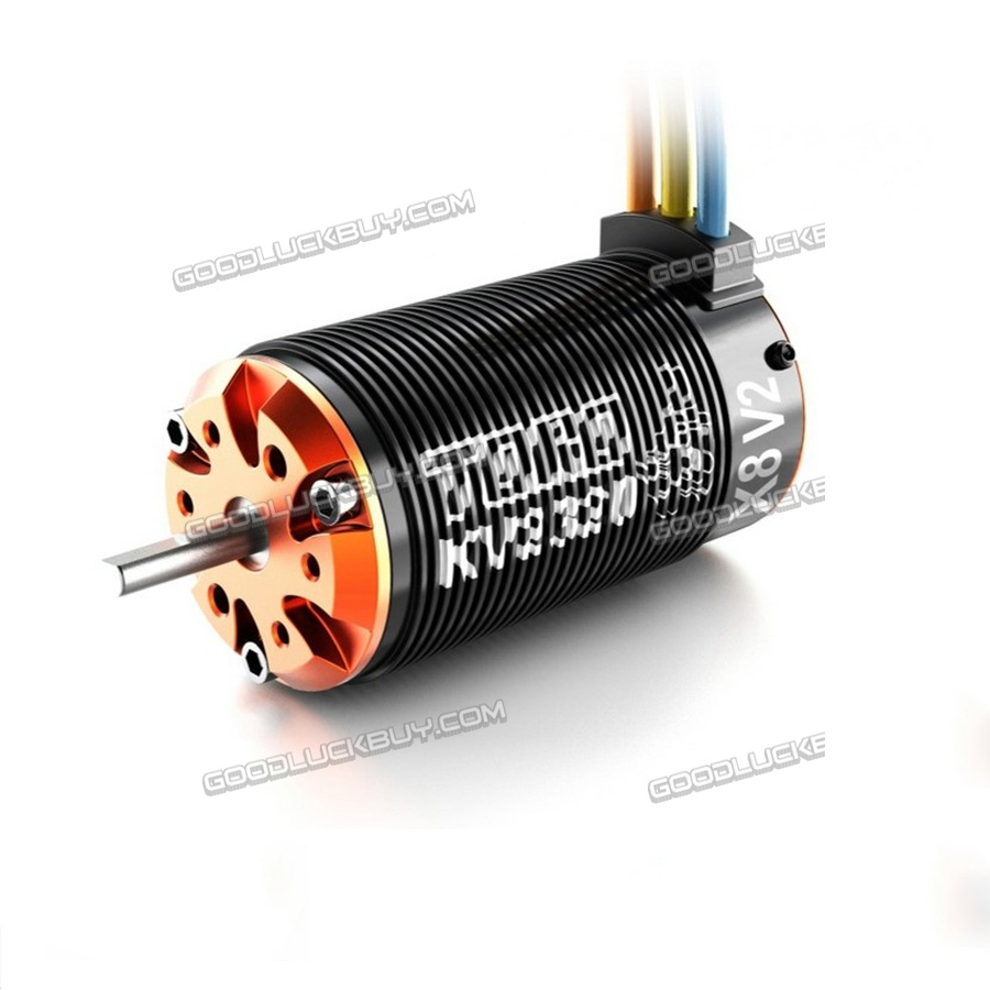 SKYRC TORO X8 V2 6 Pole 2400kv Brushless Motor 1:8 RC Cars Buggy tenshock x812 1 8 rc buggy 6 pole brushless car motor for 1 8 rc brushless sensor motor cars traxxas ofna free shipping