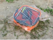 EVA folding fishing bucket fishing tackle tools Tourism household small outdoor folding fishing bucket