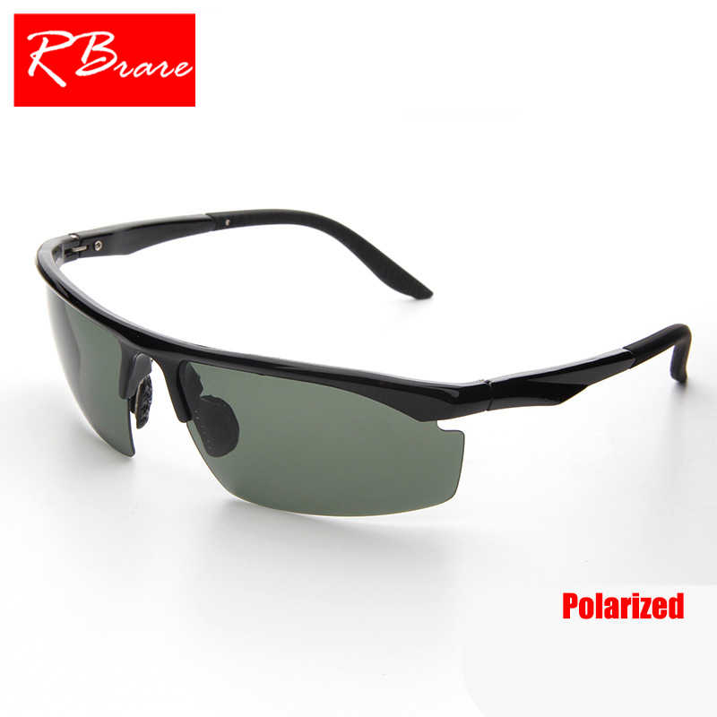 faa1cbb410c RBRARE 2019 Polarized Sunglasses Brand Designer Classic Sun Glasses  Shopping Male Adjustable Travel Driving Oculos De