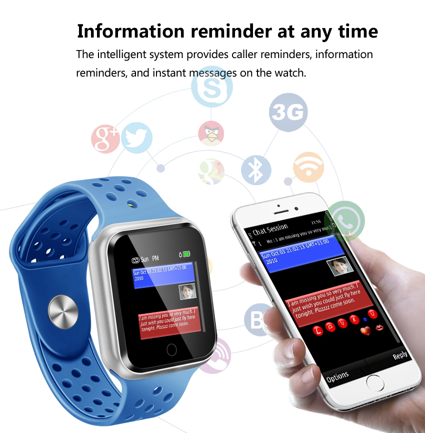 Helen Watch smart watch pedometer