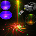 New High Quality RGB 8 Big Patterns Laser Projector Blue Led Remote Stage DJ lighting Dance Bar Xmas  disco Party Light Show L8