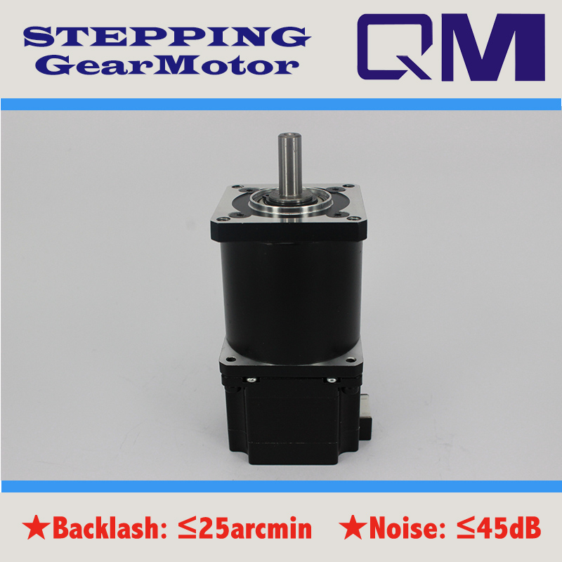 ФОТО  Gear stepper motor nema 23 stepper motor L=42mm   planetary  gearbox ratio 15:1