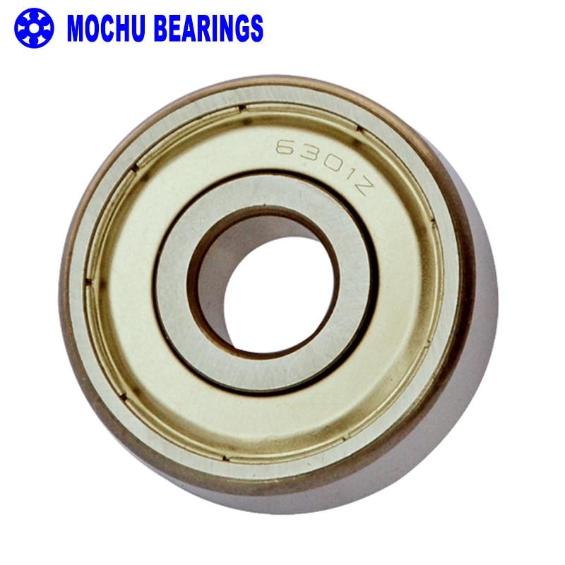 6301ZZ 12x37x12 mm Metal Shielded Ball Bearing Bearings 12*37*12 6301z 10Pcs