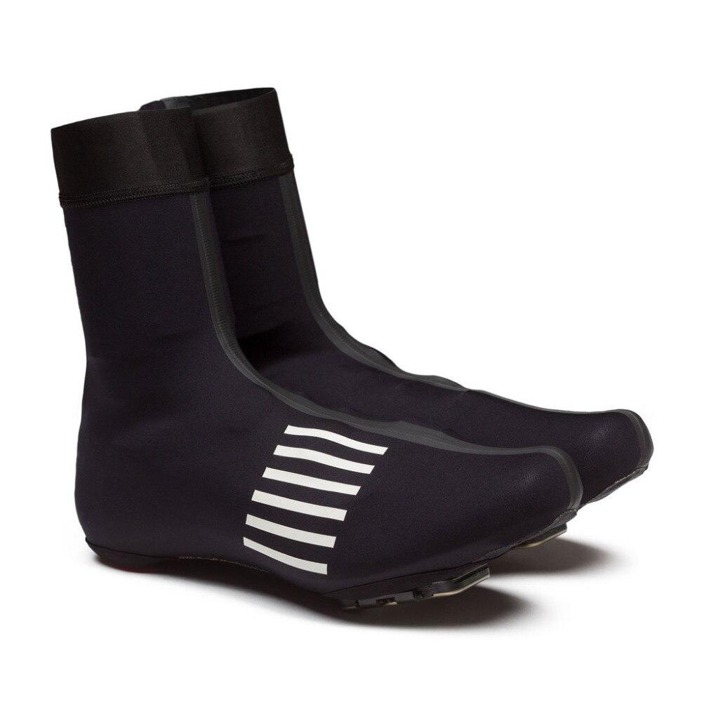 Цена за SPEXCEL НОВЫЙ ЧЕРНЫЙ Светоотражающие pro team Дождь Галоши Гонки легкая куртка обувь крышка для холодных и влажных условиях