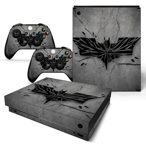For XBOX ONE X console sticker and 2 controllers sticker for XBOX ONE X vinyl sticker for xbox one X skin sticker---0083(China)