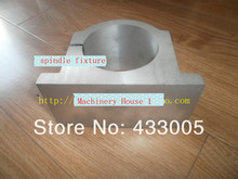 125mm  Spindle Motor Clamping Bracket Diameter  Fixture Plate Device for water cooled / air cooling CNC spindle motor