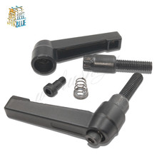 цена на 2Pcs M6/M8/M10/M12 Clamping Lever Machinery Adjustable Handle Locking External Male Thread Knob Hex Screws