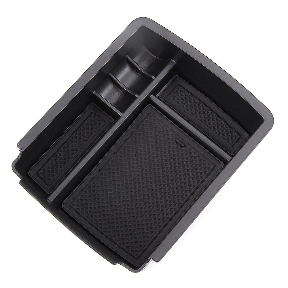 Caixa de apoio de braço central caixa de armazenamento secundário telefone titular recipiente para vw golf 7 mk7 mk7.5 2013-2018/golf sportsvan 2017 2018
