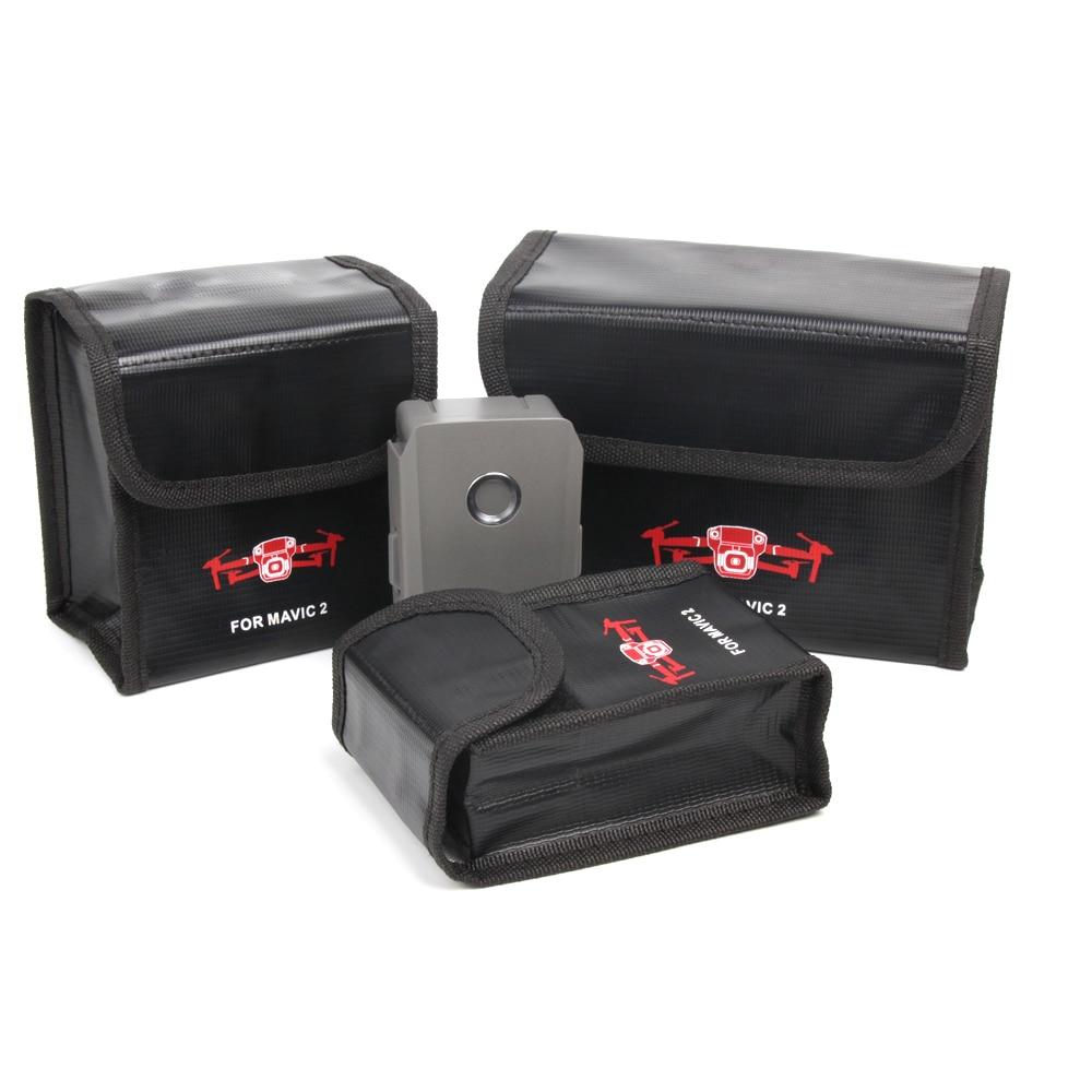 For DJI MAVIC 2 Battery Bag Case Battery Protective Case Storage Bag LiPo Explosion-proof Safe Bag For Dji Mavic Air Accessory
