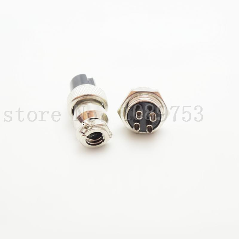 50sets Aviation Plug GX16 16mm 4Pin Male and Female Panel Metal Socket Connector кардиган golden state of mine