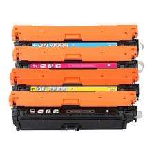 307A CE740A 740A 741A 743A 742A KCYM Цвет тонер Cartirdge совместимых для hp Laserjet CP5200 CP5225 CP5225dn CP5225n CP5220