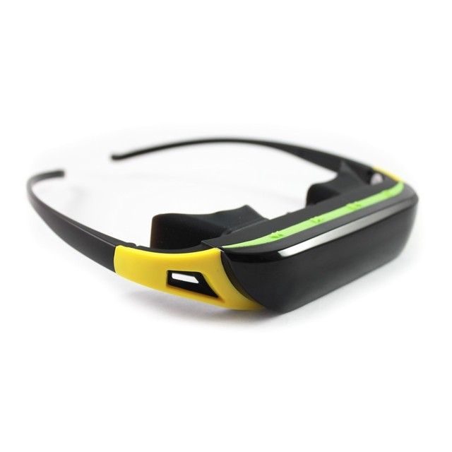 DHL Free Shipping NEW Video Glasses84inch Virtual Screen Mobile Theatre with IPD 720P