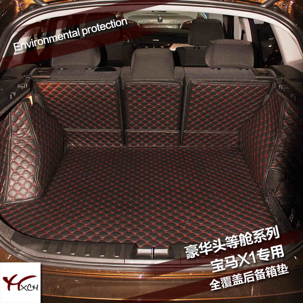 custom fit car trunk mat cargo mat for bmw x1E84 2009 2010 2011 2012 2013 2014 2015 2016 2017 cargo liners car rear trunk security shield shade cargo cover for nissan qashqai 2008 2009 2010 2011 2012 2013 black beige