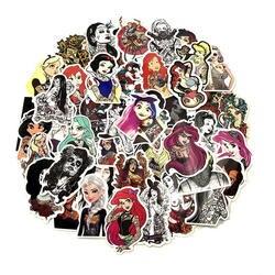 50 шт./лот укладка ПВХ Водонепроницаемый пикантная Красивая Татуировка Стикеры для девочек для ноутбука электроскутер Чемодан наклейка