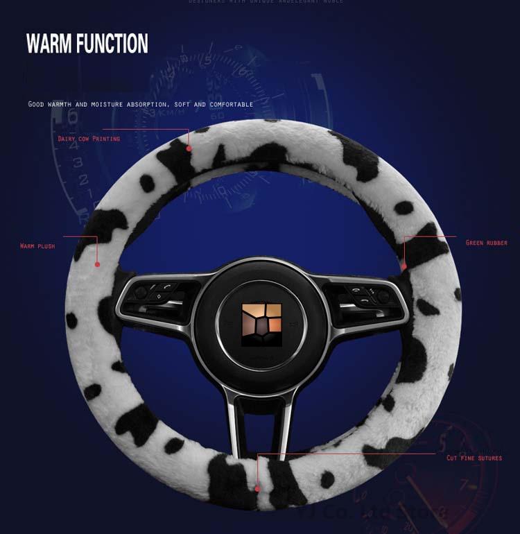 Car Styling Күзгі Қысқы Сүт Сиыр Басып - Автокөліктің ішкі керек-жарақтары - фото 6