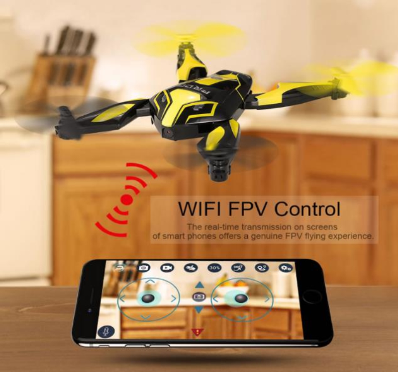Professional Aerial WIFI FPV Remote Control RC Drone 2.4G Optical Flow Outside Selfile Drone Quadcopter With 480P 720P HD Camera feichao mini gw58 foldable selfile drone fpv 0 3mp 2 0mp hd camera pocket quadcopter remote and wifi control aircraft drone