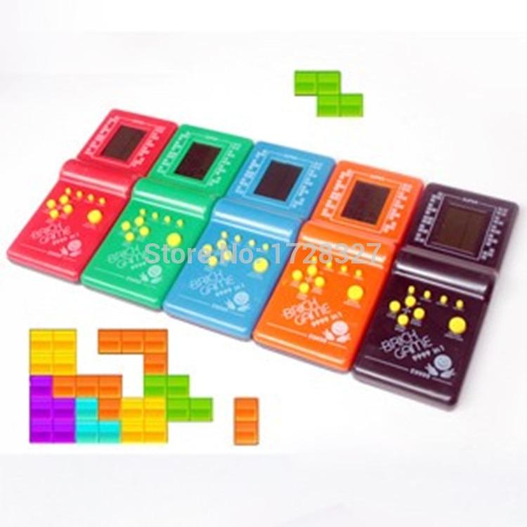 Juguetes Electronicos Juego De Mano Tetris Juego Animacion Y Maquina