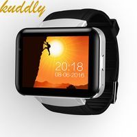 KUDDLY Smart Watch Phone DM98 MTK6572 OS 3G WIFI GPS Support SIM card Dual Core Sleeping Monitor Bluetooth 4.0 Smartwatch WCDMA