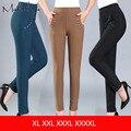 Makuluya 2016 CALÇAS inverno LIVRE outono de cintura alta elástico calças de inverno além de veludo calça casual mais calças tamanho XXK85-25